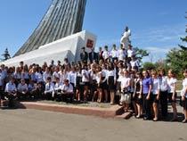 Поездка на место приземления Ю. Гагарина
