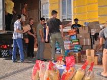 Гуманитарная помощь пострадавшим от наводнения