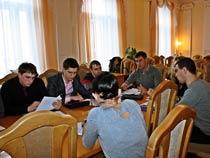 Заседание Молодежного совета Федерации профсоюзных организаций Саратовской области