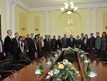 Визит делегации Чеченской Республики