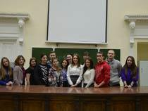 Встреча с председателем Молодежного парламента при Саратовской областной Думе