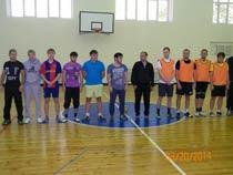 Товарищеский матч по мини-футболу
