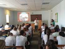 Встреча со студентами Медицинского колледжа