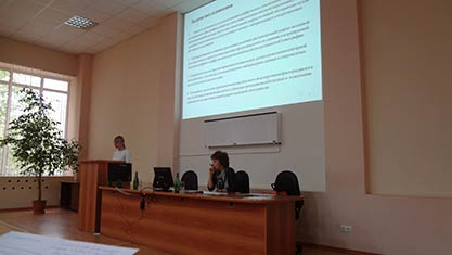 Заседание научных сотрудников НИИ фундаментальной и клинической уронефрологии