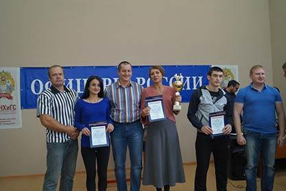 Межвузовские соревнования по армрестлингу