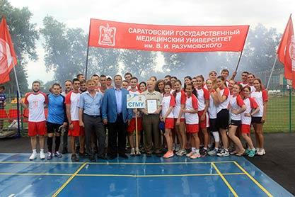 Спартакиада СОЛ вузов Саратовской области