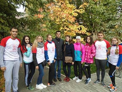Межвузовские соревнования по бегу по пересеченной местности