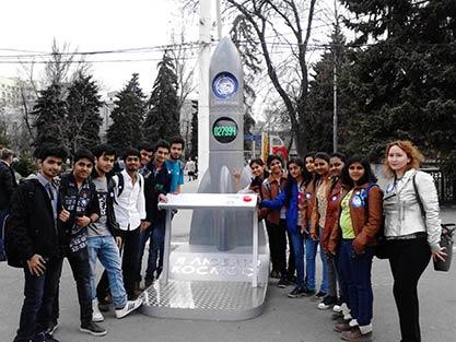 Космический день иностранных студентов на Саратовской земле