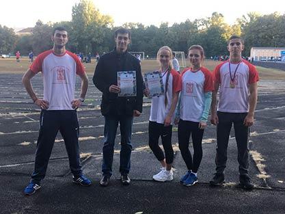 Городские соревнования по легкой атлетике среди первокурсников вузов Саратовской области