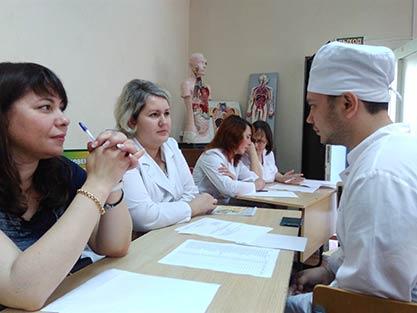 Экзамен в Медицинском колледже