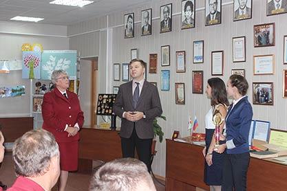 Открытие музея санитарно-эпидемиологической службы Саратовской области