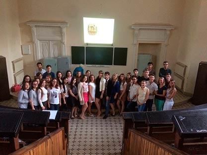 Собрание штаба студенческих отрядов СГМУ