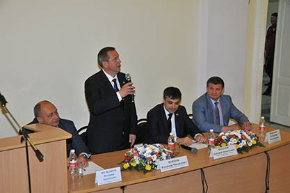 Визит председателя комитета по охране здоровья Государственной думы РФ