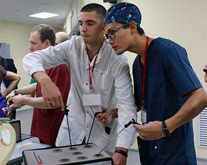 """VІ Всероссийский студенческий форум """"Малоинвазивные технологии в детской хирургии. От теории к практике"""""""