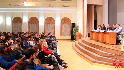 Профилактическое собрание со студентами