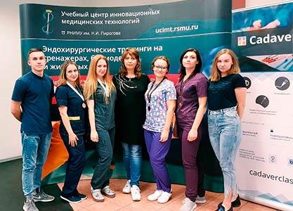 VII Всероссийская межвузовская олимпиада по технике эндохирургических операций