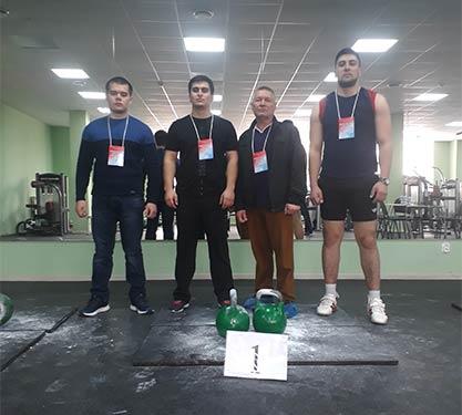 Соревнования по настольному теннису и гиревому спорту на первенство Приволжского федерального округа
