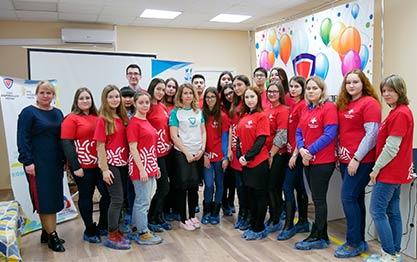 """Стартовала """"Школа добровольцев"""" для волонтеров-медиков"""