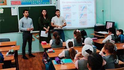 Занятие в Национальной (татарской) гимназии
