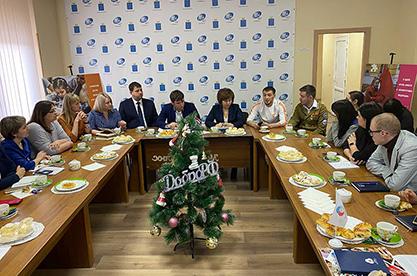 Встреча с молодежью региона
