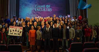 """Game of Faculties-2019"""