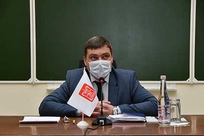 Встреча и.о. ректора СГМУ со студентами-медиками