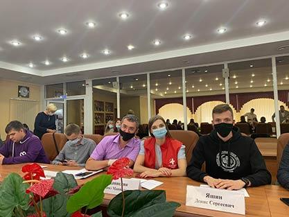 Волонтеров СГМУ поблагодарили на заседании Саратовской областной думы